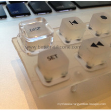 Plastic Key Cover with Silicone Rubber Keypad