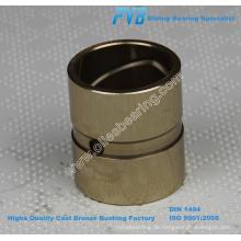 JDB-1U CuSn5Zn5Pb5 gunmetal gerade Buchsen, gute Leistung BC6 Cast Bronze Buchse, C83600 Cast Bronze Bearing Factory