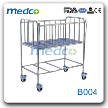 Stainless Steel Hospital Baby Bed (infant bed) B004