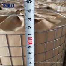 Hengshui 19 bitola 1/2 * 1/2 polegada quente mergulhado galvanizado soldado fio de malha de rolo