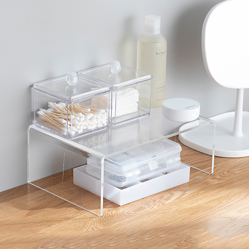 Clear Acrylic Organizer Shelves