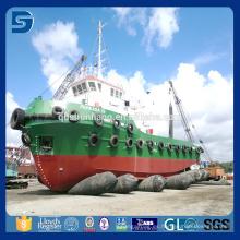 Tamaño: dia1.8mx10m airbags marinos para la plataforma de perforación costa afuera