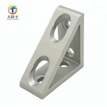 supports d'angle en aluminium
