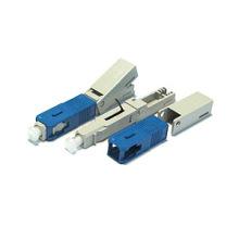 Быстроразъемный соединитель SC / UPC для волоконно-оптического кабеля симплексный одно / многомодовый быстрый / быстрый разъем