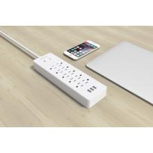 ORICO USP-10A3U-US Desktop Supressores de surtos 10 * AC + 3 * Carregador USB protetor de sobretensão