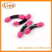 Double ended free samples beauty products eye shadow applicator with non latex