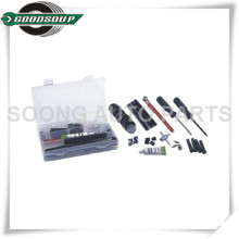 36 PCS Kits de Reparação de Pneus Válvula de Pneus Sem Tubo Kit de Reparação Ferramentas de Inserção de Pneus