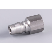 Stainless 1/4 benang Wanita Nitto Type Quick Coupler Plug