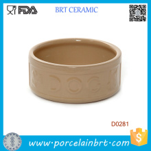 Круглая Форма Портативный Китайский Ручной Работы Керамические Собака Чаша