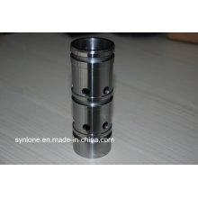 Eixo de aço inoxidável de pistão hidráulico de precisão