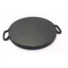 Pre-Seasoned Cast Iron Round Skillet/Sizzling Pan/Grill Pan