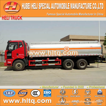 FAW 6X4 oil tank truck 30000L good quality hot sale for sale