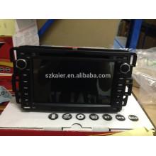 Fabricante Android Carro GPS DVD player para GMC Yukon / Acadia / Serra com GPS / Bluetooth / Rádio / SWC / Virtual 6CD / 3G / ATV / iPod