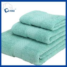 100% reine Baumwoll-Gesichts-Handtuch-Sets (QHS88767)
