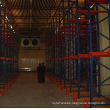Factory warehouse racking heavy duty drive in racking