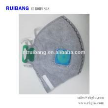 proteção de poeira ativado pano de máscara cirúrgica de carbono