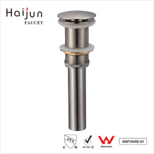 Haijun Manufacturer Price Polished Bathroom Basin Pop-Up Water Sink Drain
