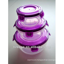3 sets air tight food container mould