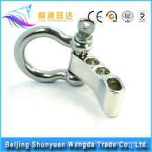 2016 good quality unique zinc alloy lock metal bag belt buckle for handbag