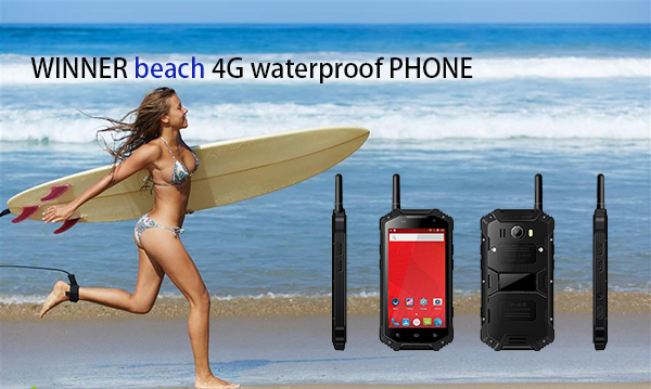 WINNER beach 4G waterproof PHONE