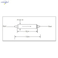 single stage dual stage optical fiber Isolator +wdm Hybrid Device for Fiber Amplifier EDFA FTTH