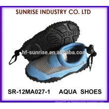 SR-12MA027 Zapatos de la playa del niño para los zapatos del agua de los zapatos de la aguamarina del agua que practican surf los zapatos antirresbaladizos del agua de los zapatos