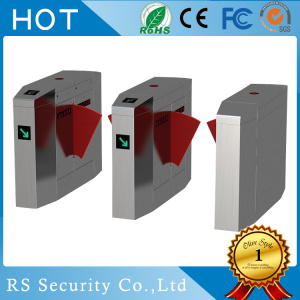 Subway Optical Turnstile Flap Barrier Pedestrian Gate
