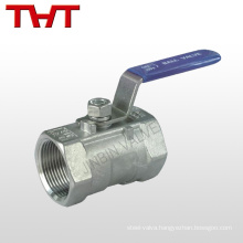stainless steel female screw ball valve seal