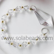 Reasonable 280MM Length Bead Garland Prism