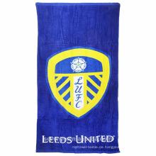 100% Baumwolle Leeds vereint Slogan komfortable Strandtücher