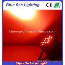 2015 hotsale 54pcs x 3w dj light par led