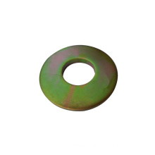 ISO certification customized Zinc plated Round shape Deep drawn sheet washer stamping metal parts