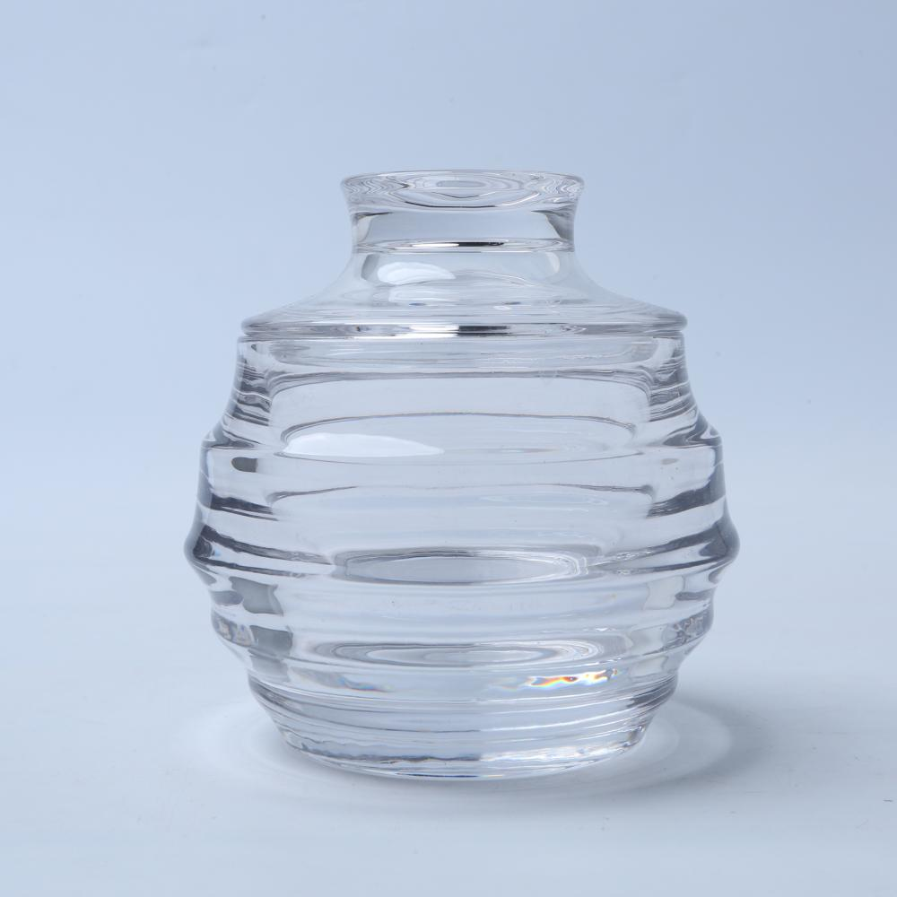Br 1814 Honeycomb Glass Candy Jar