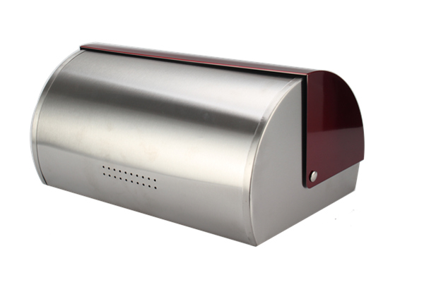 Satinless Steel Bread Bin