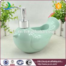 Atacado azul pássaro azul de paz banheiro sabonete Dispenser
