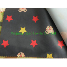 210T Printed Polyester Taffeta Fabric for tablecloth in stock