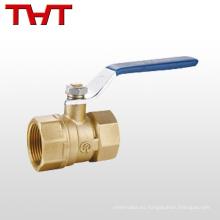 """pn16 1/2 """"válvula de bola de latón roscada hembra para gas"""