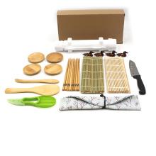 Sushi Making Kit Natural Sushi Mold DIY Rolling Kitchen Bamboo Rolling Mats