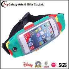 Função Multi Touch Screen esportes profissionais bolsos/Running correia em Material elástico de mergulho