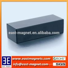 Imán permanente para el generador del motor con la capa de epoxy / el imán neodymium del recubrimiento negro para la venta