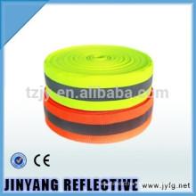 High visibility reflective ribbon
