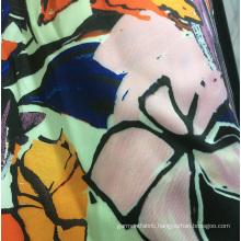 Polyester Printed Autumn/Winter Dress, Jacket Garment Twill Fabric