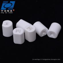 isolateur de capteur en céramique d'alumine blanche