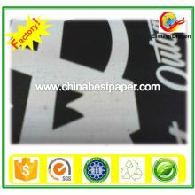 Placa de cartão preto para embalagem de caixa