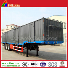 Drei BPW Achsen schützen Güter Trocken Van Truck