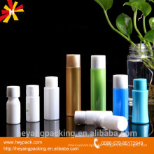 hotel shampoo and lotion plastic cosmetic container