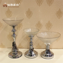 European design dinnerware fruit set glass tray