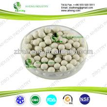 medio de filtro de agua alcalina medio para tratamiento de agua potable o antibatria bio bola de cerámica
