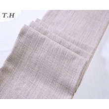 El lino moderno parece la tela de la tela cruzada para el sofá y la silla