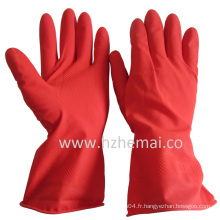 Gants de lavage de gant en caoutchouc Gants de ménage Latex de cuisine
